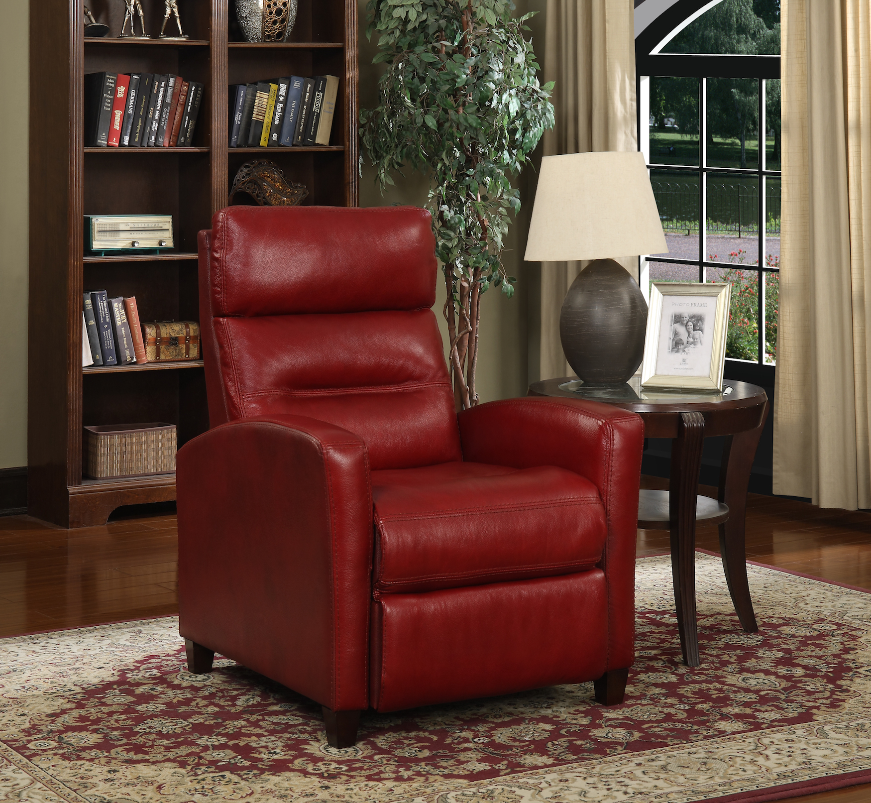 synergy home leather recliner